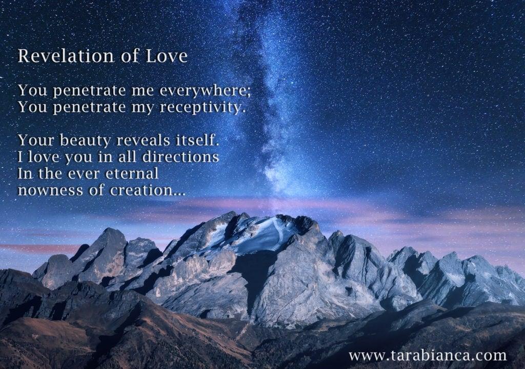 Revelation of Love Poem